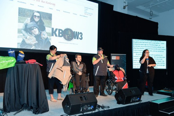 KOOLWAY SPORTS exhibits at the Accessibility Innovation Showcase: Toronto Canada
