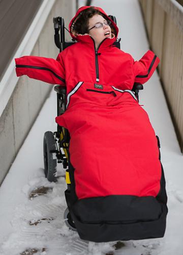 Koolkoat – Winter Jacket, Blanket Front & Blanket Back